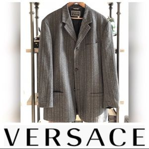 VERSACE Gianni Versace Coat - Tailored - Soft Wool